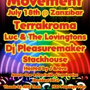 July 18th – Luminous Movement w/ Terrakroma, Luc & The Lovingtons, DJ Pleasuremaker, & Stackhouse