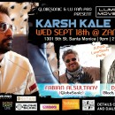 Sept. 18th – Karsh Kale, Fabian Alsultany, & Dj Drez | Luminous Movement