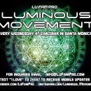 Luminous Movement Events