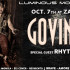 Oct. 7th – Luminous Movement | GOVINDA with special guests Rhythmstar | presented by Lu Fam Pro
