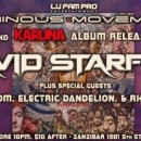 "❖ David Starfire's ""KARUNA"" album release party with Imagika Om, Electric Dandelion, & Rhythmstar 